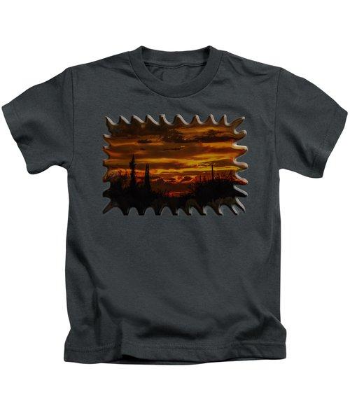 Sunset No.16 Kids T-Shirt
