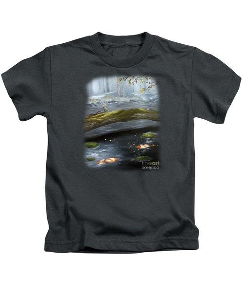 The Wishing Pond  Kids T-Shirt