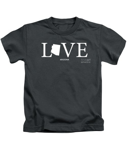 Az Love Kids T-Shirt by Nancy Ingersoll