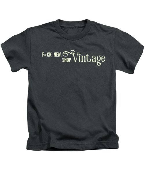F New. Shop Vintage Kids T-Shirt