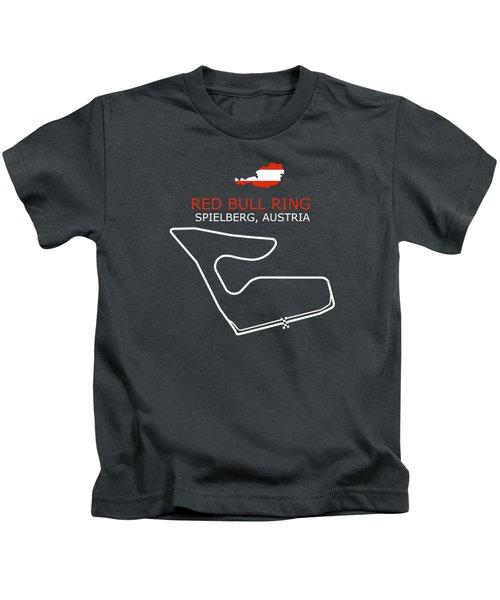 The Red Bull Ring Kids T-Shirt