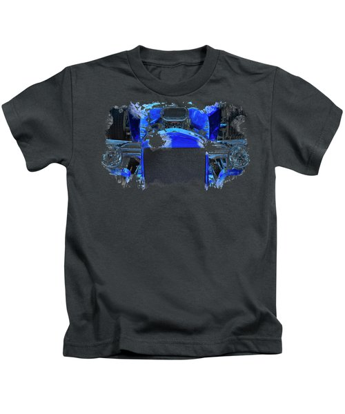 Blue Roadster Kids T-Shirt