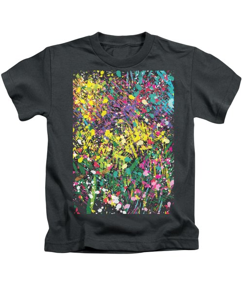 Flower Bed Abstract Kids T-Shirt