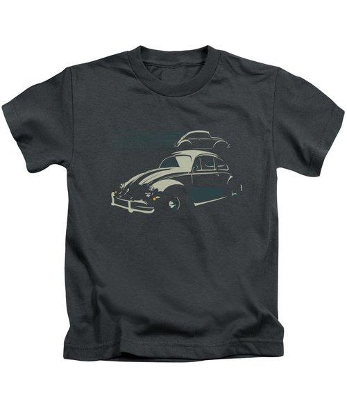 Vw Beatle Kids T-Shirt