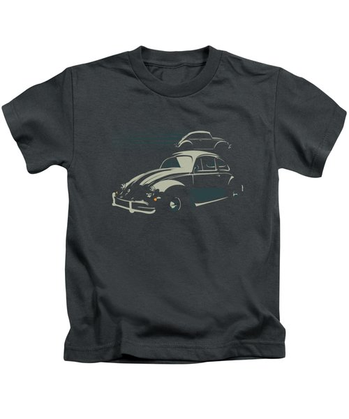 Vw Beatle Kids T-Shirt