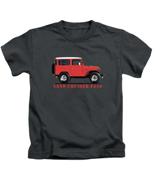 The Land Cruiser Fj40 Kids T-Shirt