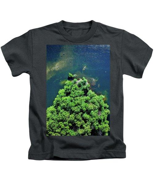 Archipelago Island - Aerial Photography Kids T-Shirt