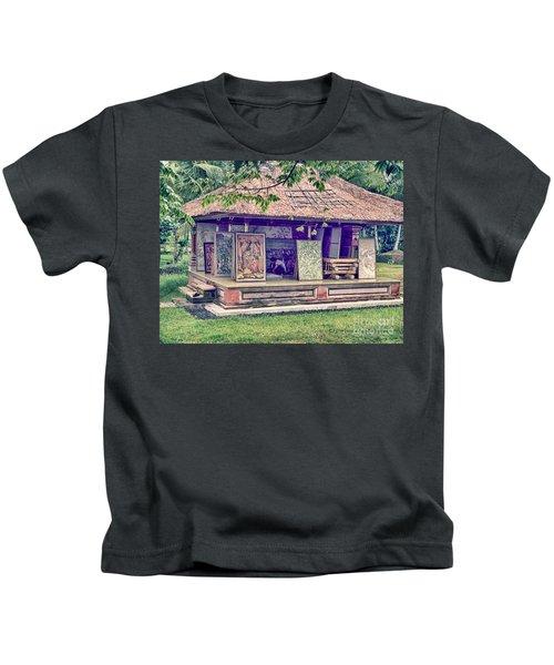 Asian Artist Kids T-Shirt