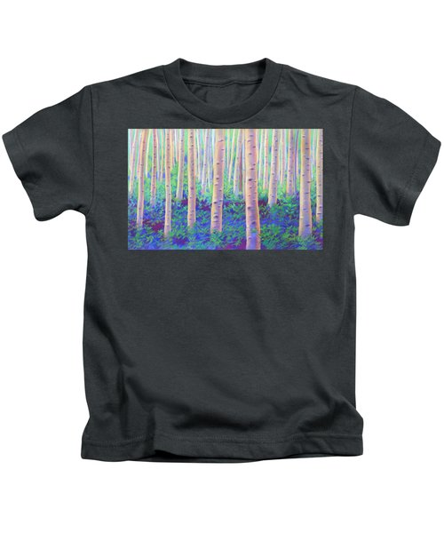 Aspens In Aspen Kids T-Shirt