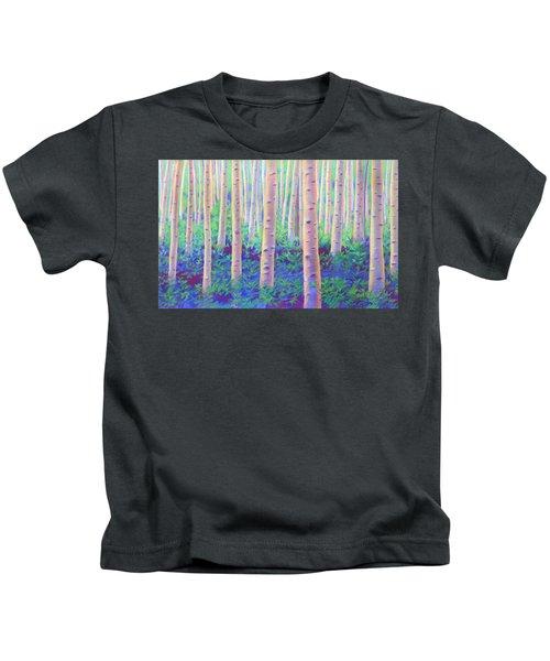 Aspens In Aspen Kids T-Shirt