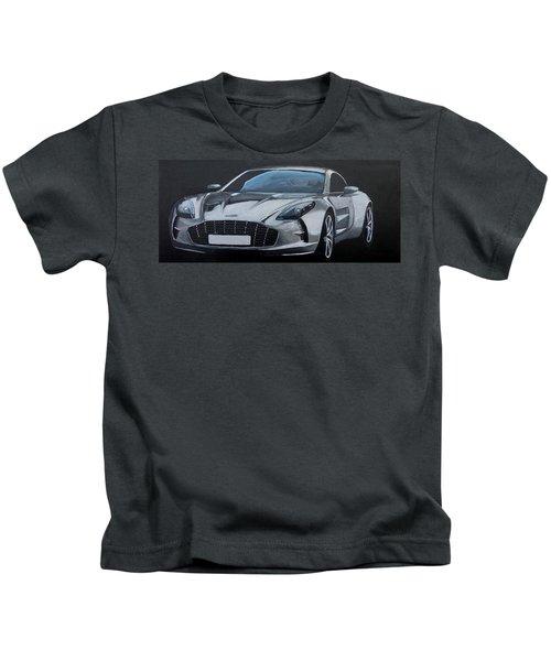 Aston Martin One-77 Kids T-Shirt