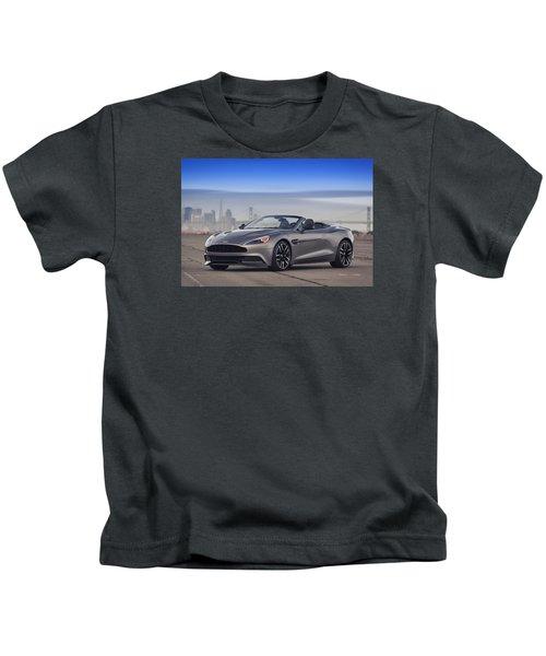 Aston Vanquish Convertible Kids T-Shirt