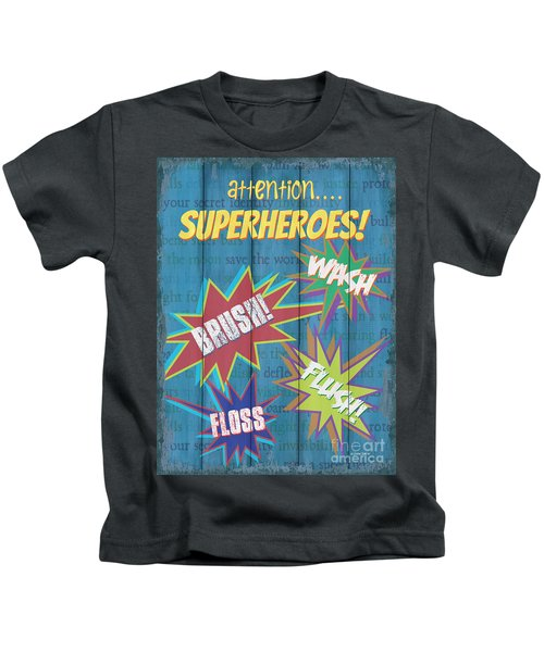 Attention Superheroes Kids T-Shirt