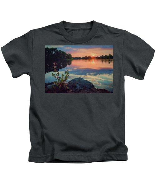 August Sunset Kids T-Shirt