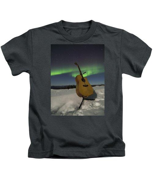 Aurora Instrumentalis Kids T-Shirt