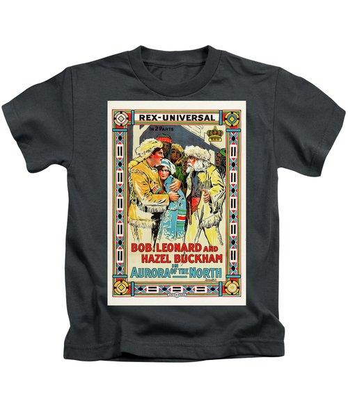 Aurora Of The North 1914 Kids T-Shirt