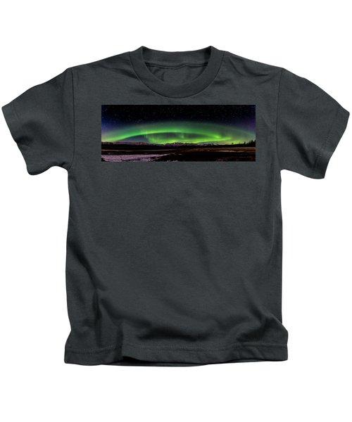 Aurora Spiral Kids T-Shirt