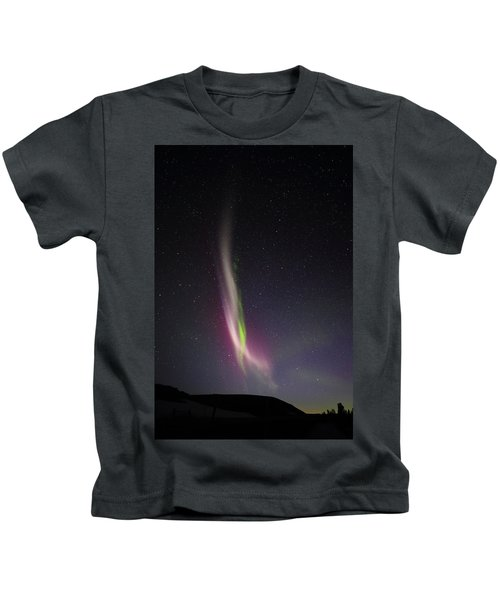 Auroral Phenomonen K Nown As Steve, 6 Kids T-Shirt