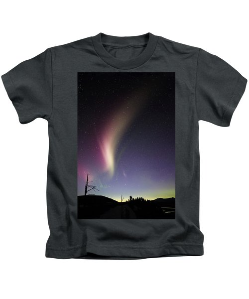 Auroral Phenomonen Known As Steve 2 Kids T-Shirt
