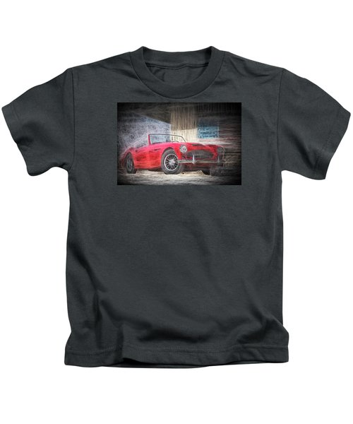 Austin Healey Chalk Study 4 Kids T-Shirt