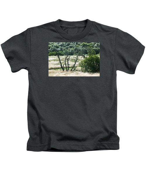 Autumn And Grass In Isle Of Skye, Uk Kids T-Shirt