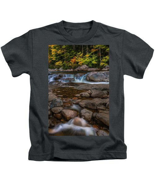 Autumn Colors In White Mountains New Hampshire Kids T-Shirt