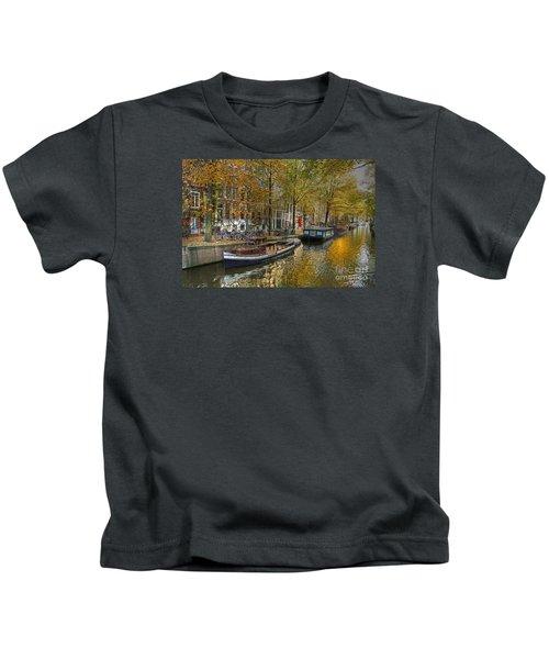 Autumn In Amsterdam Kids T-Shirt