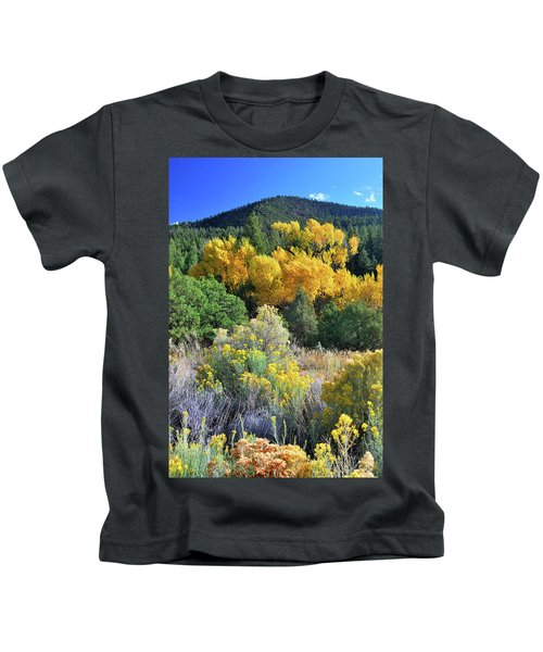 Autumn In The Canyon Kids T-Shirt