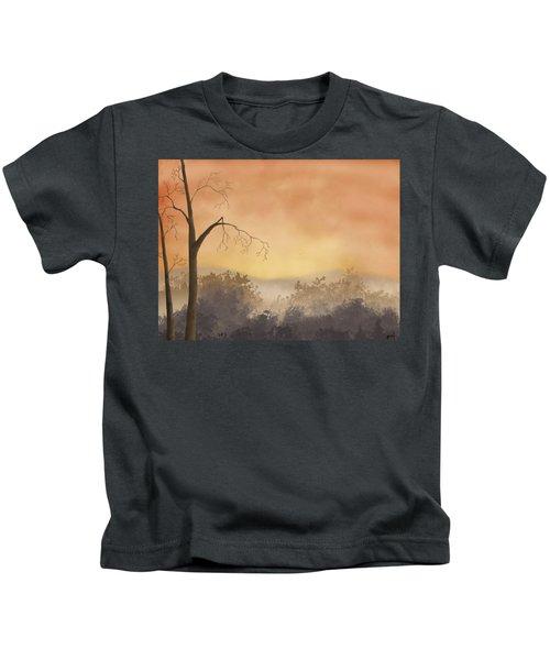 Autumn Morning Kids T-Shirt