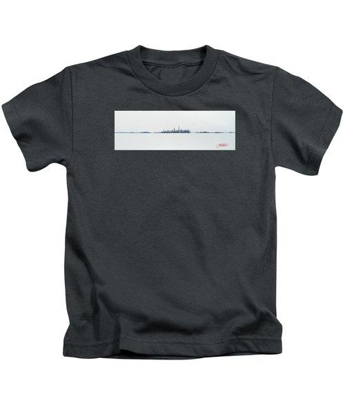 Autumn Skyline Kids T-Shirt