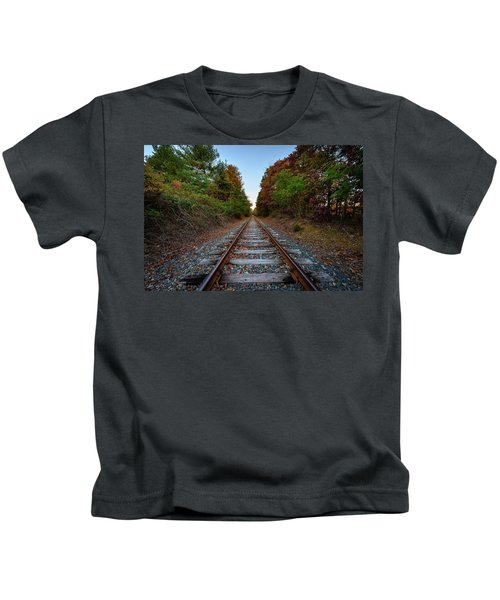 Autumn Train Kids T-Shirt