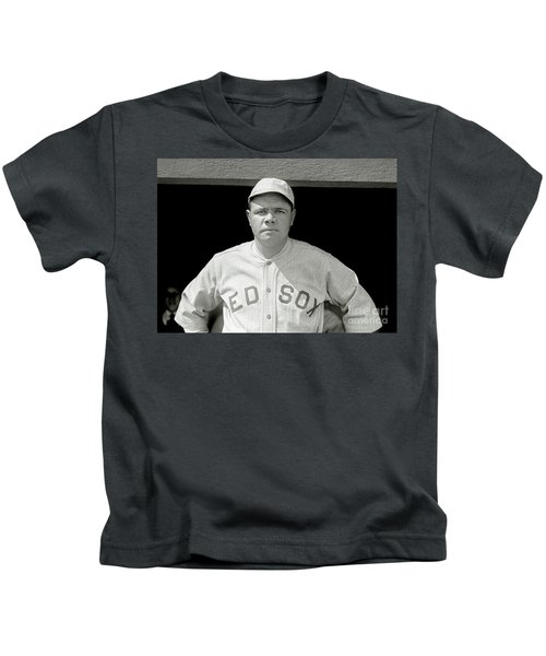 Babe Ruth Red Sox Kids T-Shirt