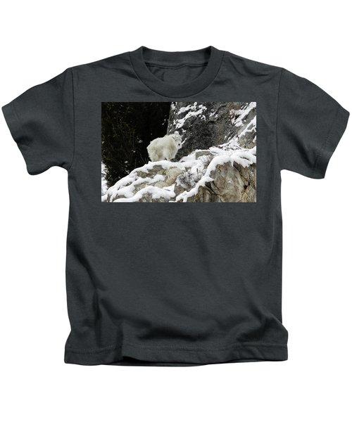 Baby Mountain Goat Kids T-Shirt