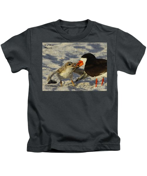 Baby Skimmer Feeding Kids T-Shirt