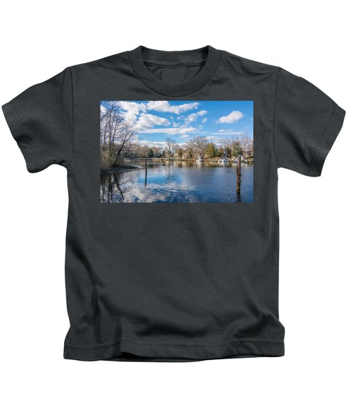Back Creek Annapolis Md Kids T-Shirt