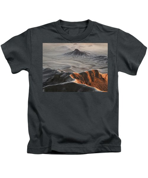 Badlands Fog Kids T-Shirt
