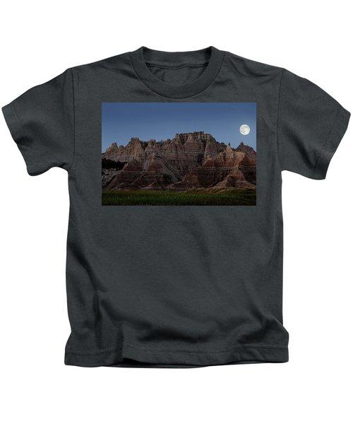 Badlands Moon Rising Kids T-Shirt