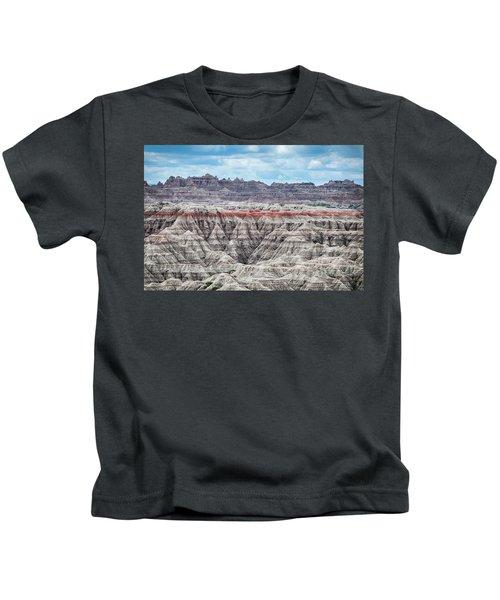 Badlands National Park Vista Kids T-Shirt