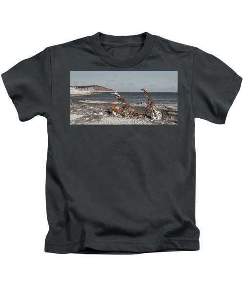 Bahia Honda Florida Keys Relic Kids T-Shirt