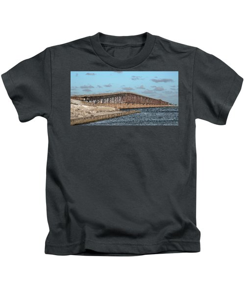 Bahia Honda Railway Florida Keys Kids T-Shirt