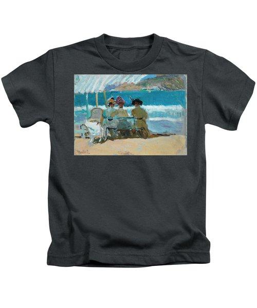 Under The Awnings, San Sebastian Kids T-Shirt
