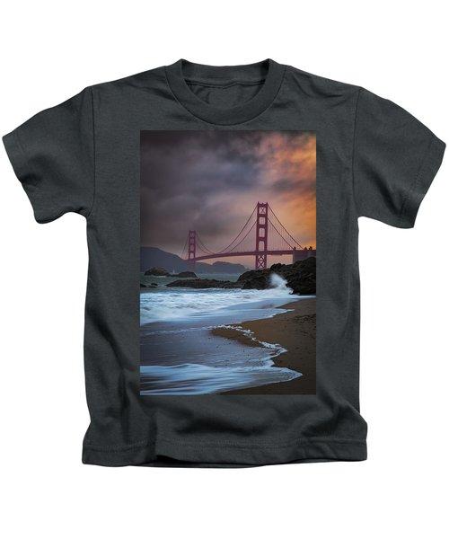 Baker's Beach Kids T-Shirt