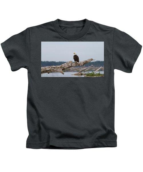 Bald Eagle #1 Kids T-Shirt