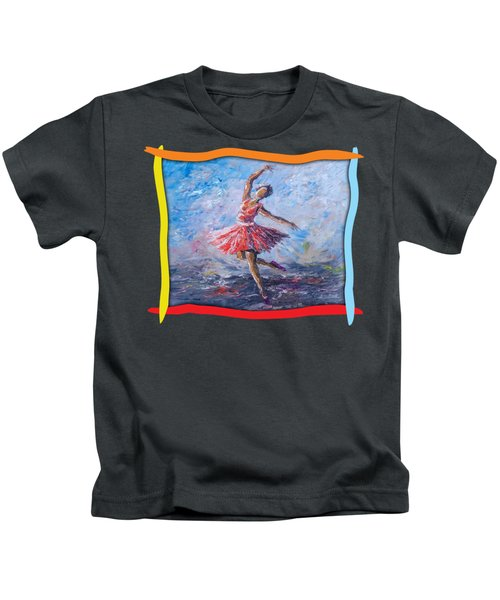Ballet Dancer Kids T-Shirt