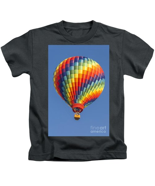 Ballooning In Color Kids T-Shirt