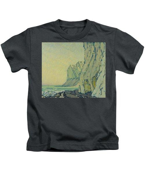 Baltic Sea Cliffs Kids T-Shirt