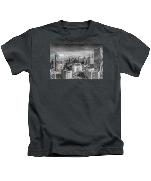 Baltimore Landscape - Bromo Seltzer Arts Tower Kids T-Shirt