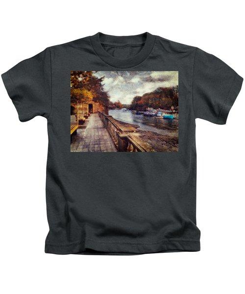 Balustrades And Boats Kids T-Shirt