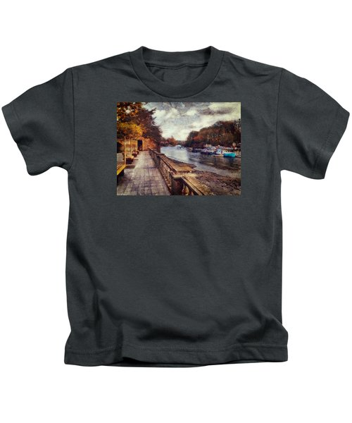 Balustrades And Boats Kids T-Shirt