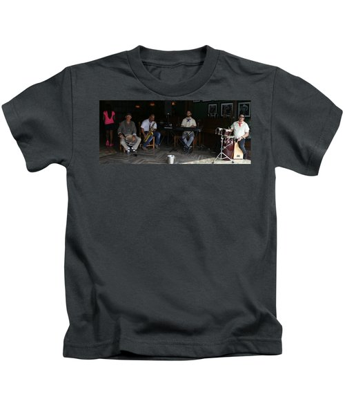 Band With Pink Girl Kids T-Shirt